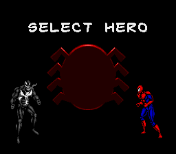 Spider-Man & Venom - Maximum Carnage - Character Select  -  - User Screenshot